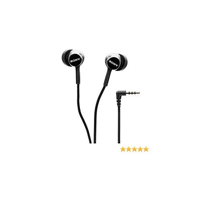 Amazon.com: Sony MDR-EX155AP In-Ear Headphones with Mic (Black): Home Audio & Th