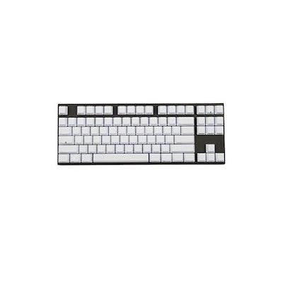Amazon.com: Varmilo 87 Key Bluetooth Cherry Red Switches White PBT Keycaps Laser