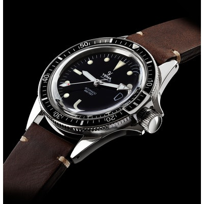 Yema Superman Heritage I 39mm French Vintage Automatic Diver