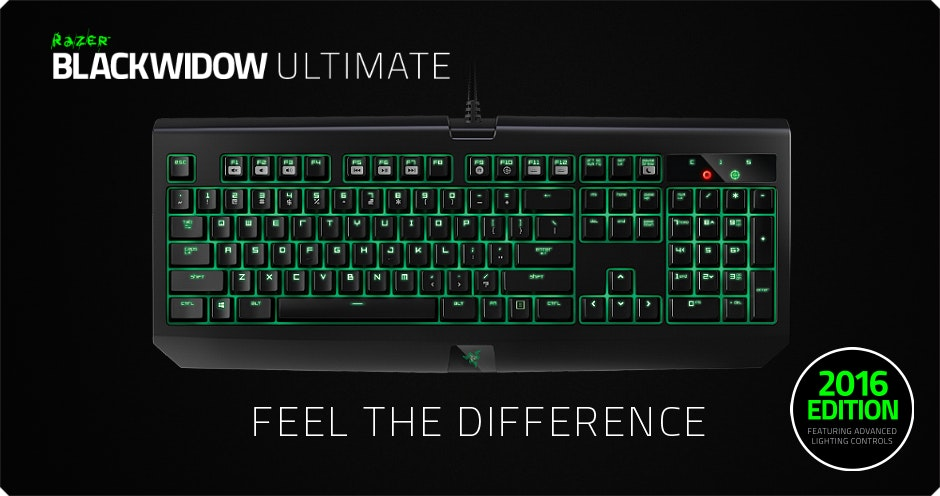 Razer BlackWidow Ultimate - Mechanical Keyboard