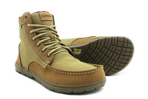 Mens Boulder Boot Brown- Collapsible, Minimalist Boot