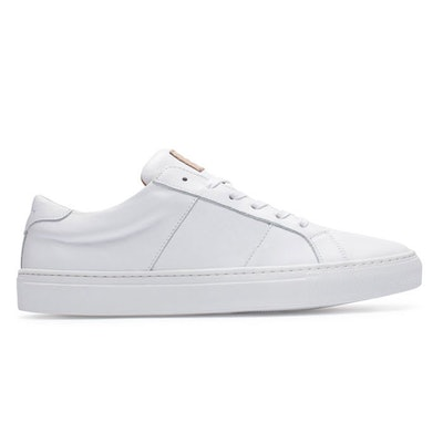 Greats - Italian Leather Sneaker - The Royale White | Greats