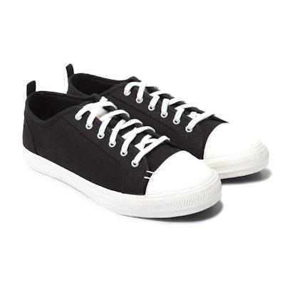 Greats - The Wilson Mens Sneaker - Black // White Sole   Greats
