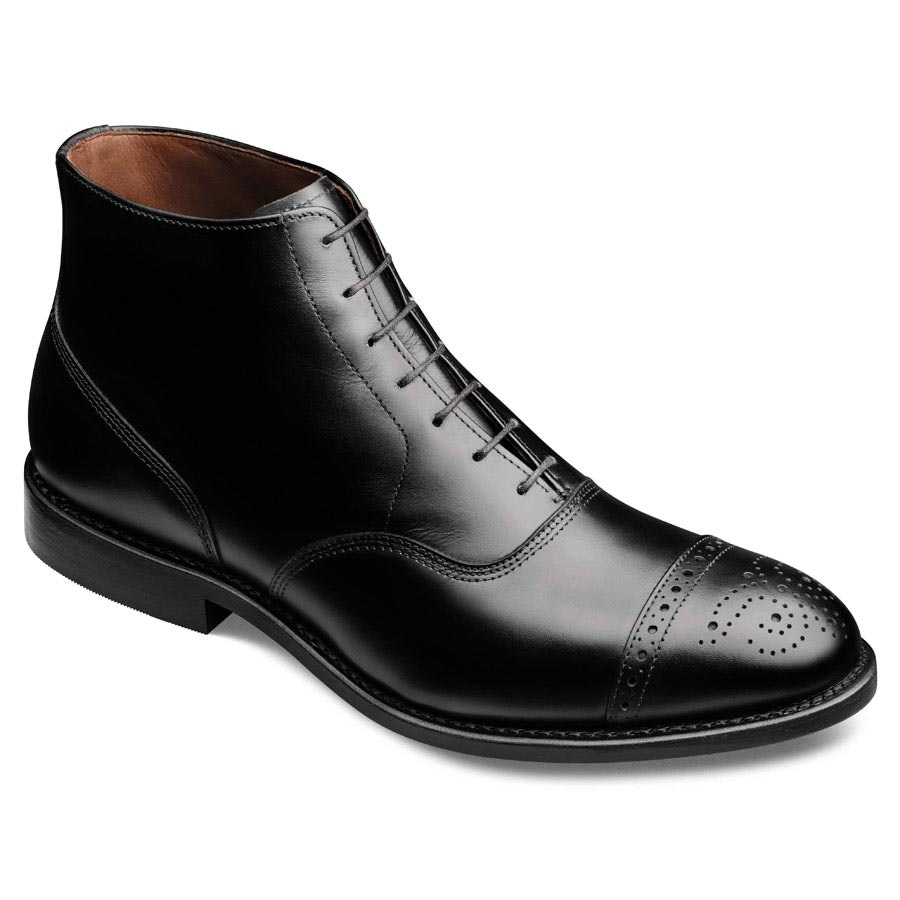 Fifth Street - Cap-toe Lace-up Oxford Men's Dress Boots by Allen Edmonds