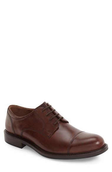 Johnston & Murphy Tabor Cap Toe Derby (Men) | Nordstrom