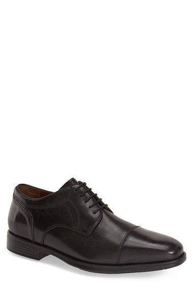 Johnston & Murphy 'Branning' Waterproof Cap Toe Derby (Men) | Nordstrom