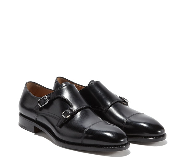 Double Monkstrap Shoe - Slip-ons - Shoes - Men - Salvatore Ferragamo
