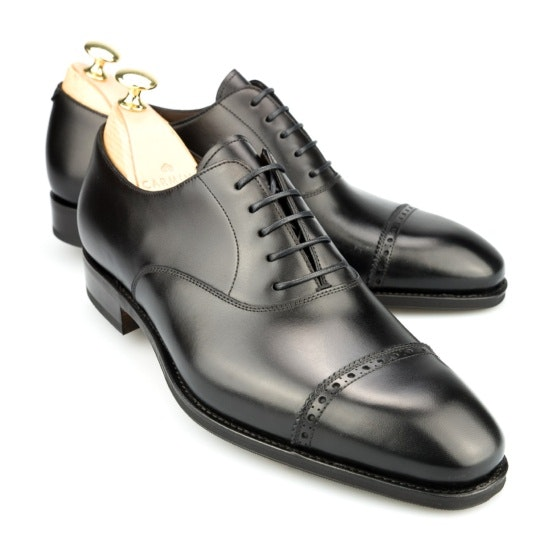CAPTOE OXFORD IN BLACK CALF