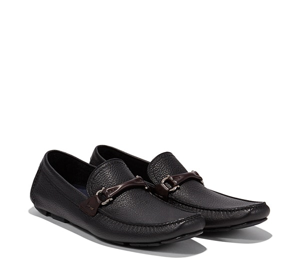 Gancio Bit Driver Moccasin - Mocassins & Loafers - Shoes - Men - Salvatore Ferra