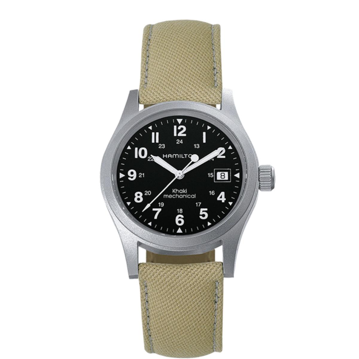 Officer Mechanical | Khaki Field - Mens| Hamilton Watches