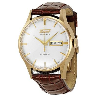 Tissot Men's Visodate Gold-Tone Stainless Steel Watch