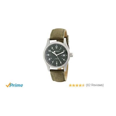 Amazon.com: Hamilton Men's HML-H69419363 Stainless Steel Watch with Khaki Field