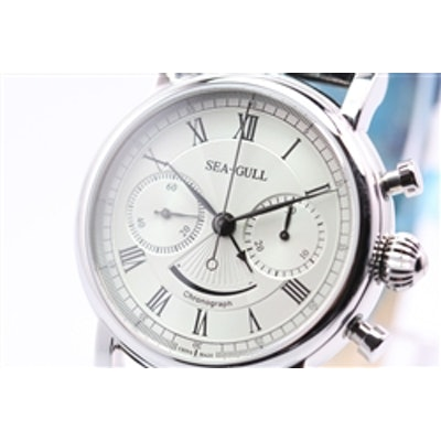 SEA-GULL M193S Chronograph Watch with Power Reserve Indicator