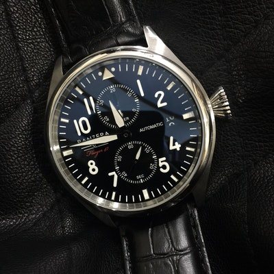 PANZERA | FLIEGER 47 Mechanical Pilots Watch