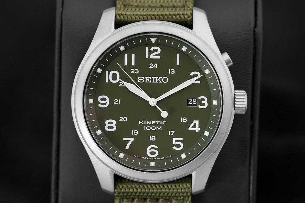 Seiko Kinetic Field Watch - Massdrop