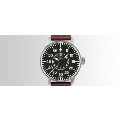 Laco Pilot watch with type B dial, automatic movement