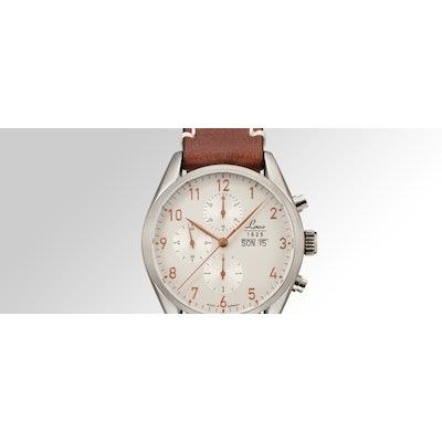 Laco Uhrenmanufaktur watch with Swiss automatic chronograph Valjoux 7750
