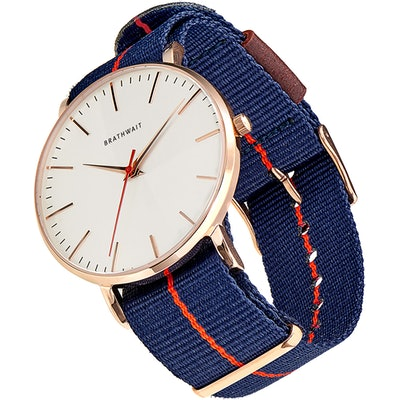 Brathwait - The classic slim wrist watch: Azur strap