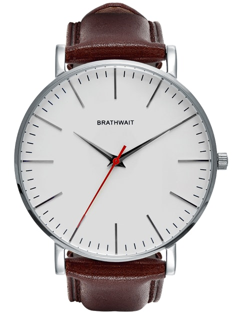 Braitwait classic slim steel wrist watch