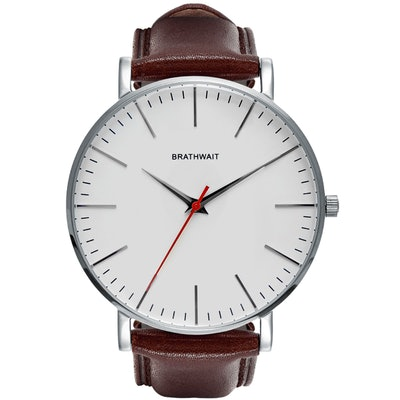 Braitwait classic slim steel wrist watch