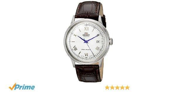 Amazon.com: Orient Men's '2nd Gen. Bambino Ver. 2' Japanese Automatic Stainless