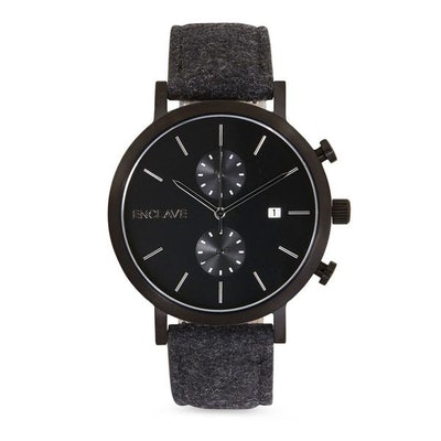 The Chrono - Gunmetal / Black Tweed - Enclave