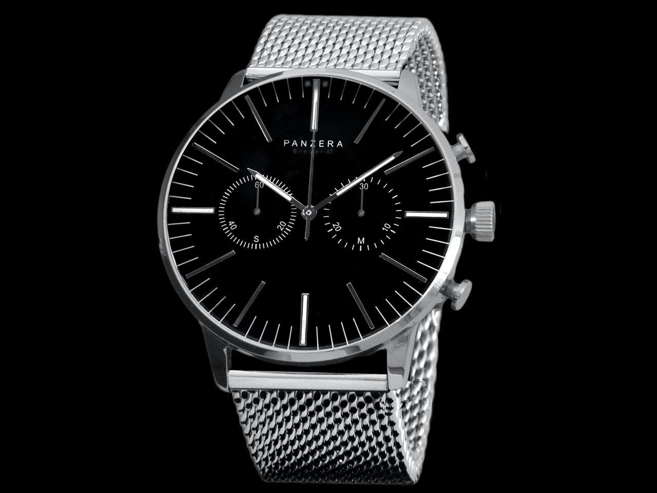 PANZERA   BREUER 47 Mechanical Chronograph Watch