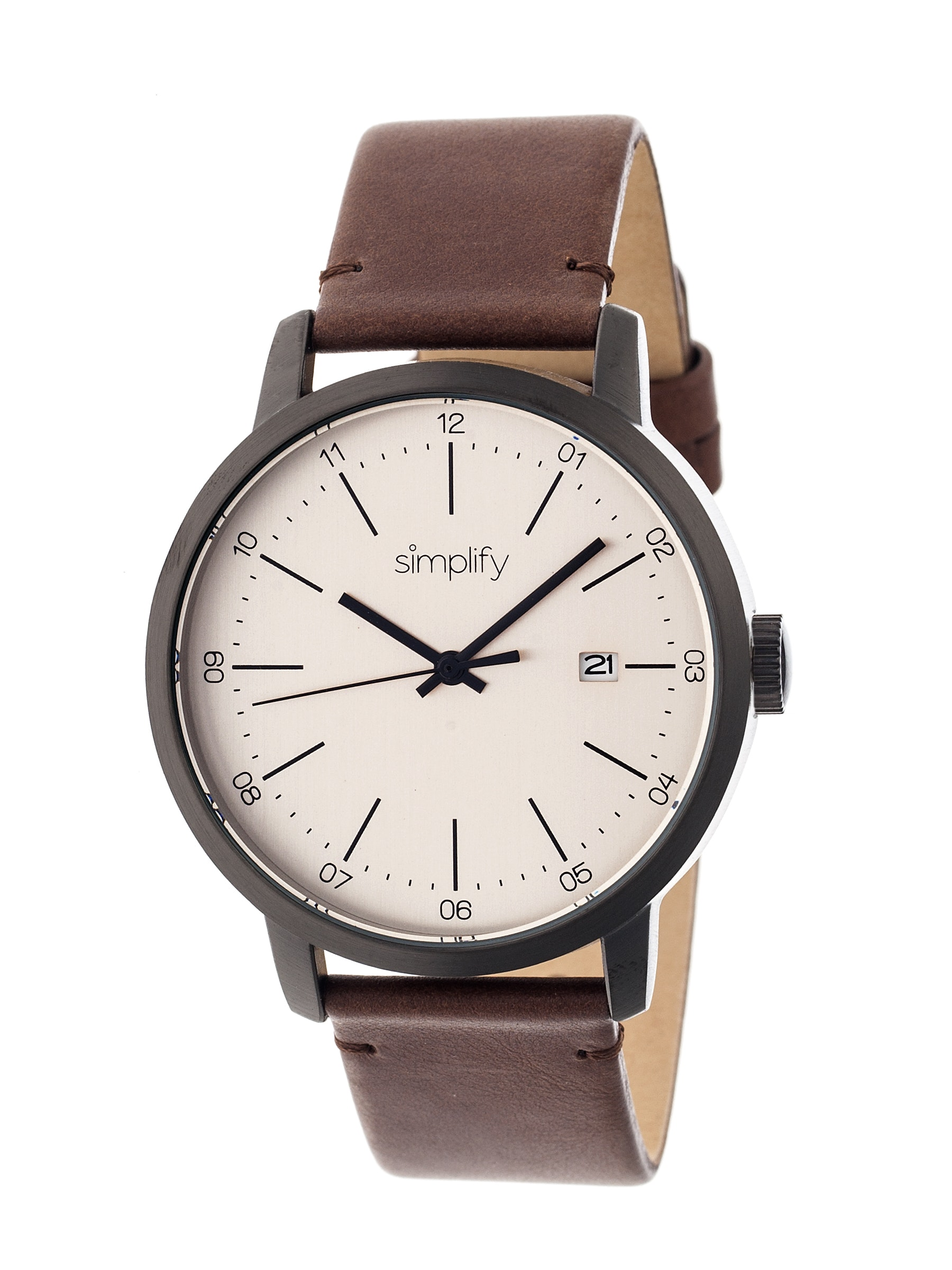 Brown Leather Simplify 2500