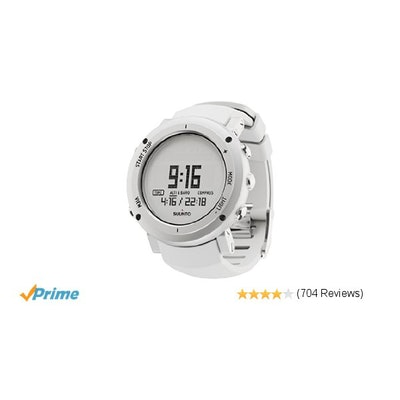 Amazon.com: Suunto Core ALU Pure White: Suunto: Sports & Outdoors
