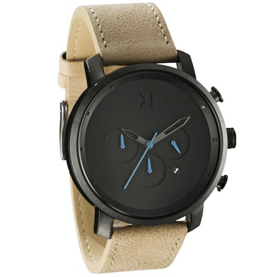Chrono Gun Metal/Sandstone Leather                           | M