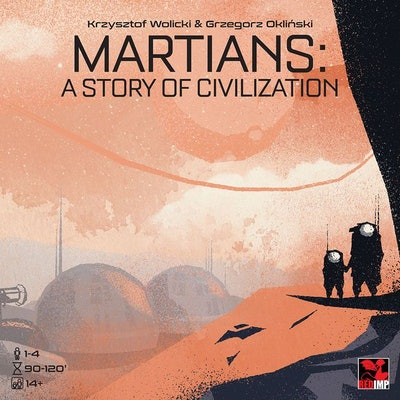 Martians: A Story of Civilization | Board Game