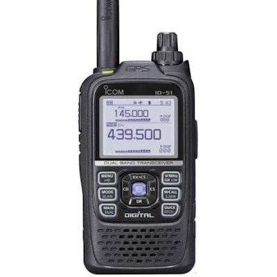 ICOM ID-51A PLUS VHF/UHF Digital Handheld Transceiver