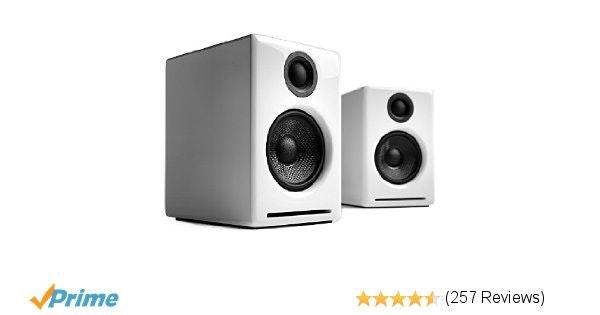 Amazon.com: Audioengine A2+ White (Pr.) 2-way Powered Speaker System: Electronic
