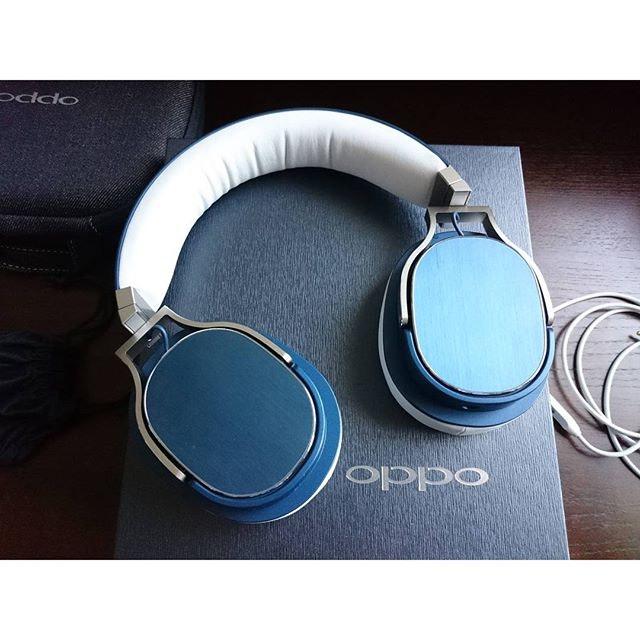 OPPO PM-3 Closed-Back Planar Magnetic Headphones (Steel Blue)
