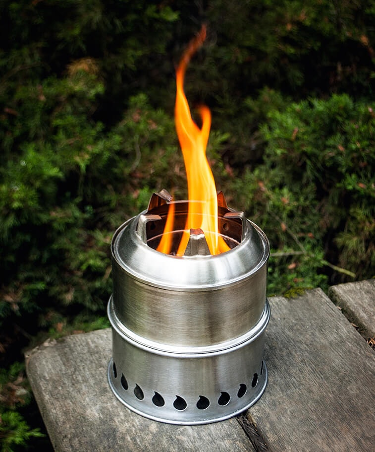 304 Stainless Steel Scout Stove | Stoves:  Backpack Stove, Fixed Chimney, Gasifi