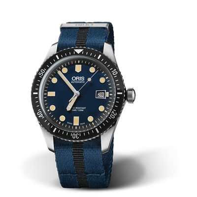 Oris Divers Sixty-Five - 42mm blue dial automatic
