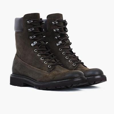 Dark Olive Suede Explorer | Thursday Boot Company                     Arrow