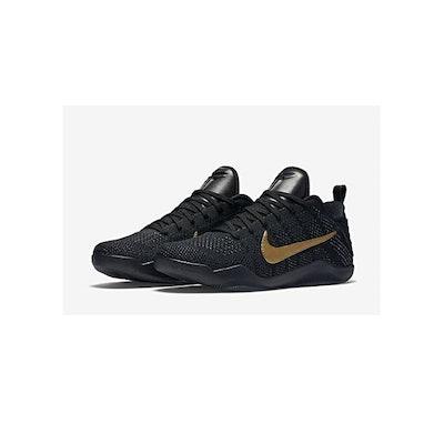 "Nike Kobe 11 FTB Black/Black-Metallic Gold 869459-001 ""Fade to Black""/""Black Mam"
