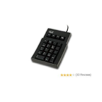 Amazon.com: ADESSO AKP-220B Adesso 22 Key Mechanical USB Numeric Keypad - USB an