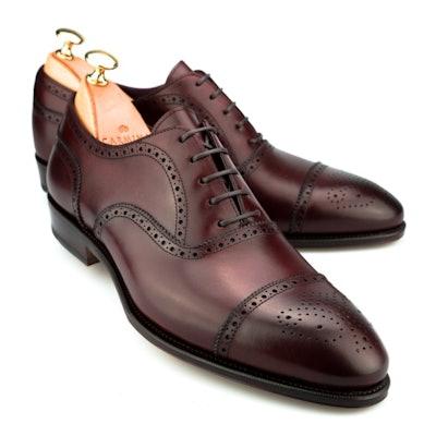 Semi Brogue Inca Oxford Shoes | CARMINA
