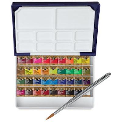 Holbien Palm Box Plus  Set of 36 Colors