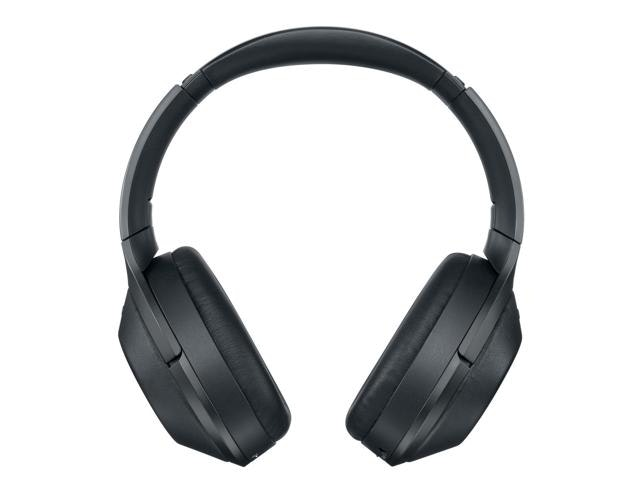 Sony MDR-1000X Wireless headphones with noise cancelling.