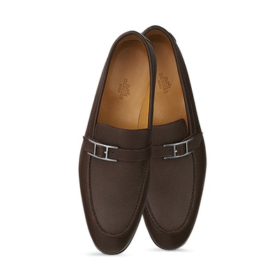 Loafers leather | Hermès United States