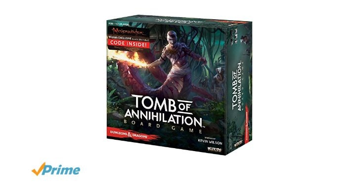 Amazon.com: WizKids Dungeons & Dragons Tomb of Annihilation Adventure Strategy B