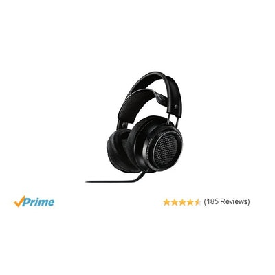 Amazon.com: Philips X2/27 Fidelio Premium Headphones, Black: Electronics