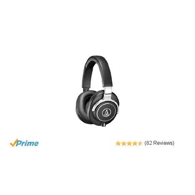 Amazon.com: Audio-Technica ATH-M70x Professional Monitor Headphones: Musical Ins