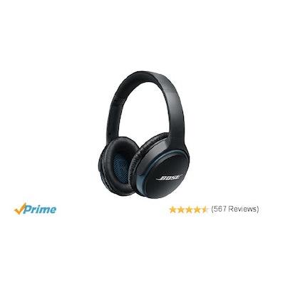 Amazon.com: Bose SoundLink around-ear wireless headphones II Black: Home Audio &