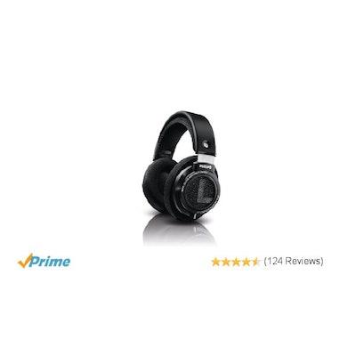 Amazon.com: Philips SHP9500 HiFi Precision Stereo Over-ear Headphones (Black): E