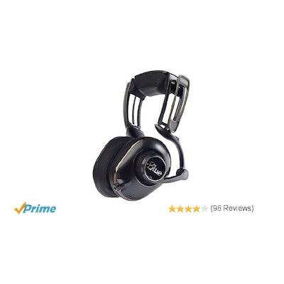 Amazon.com: Blue Microphones Mo-Fi Powered High-Fidelity Headphones with Integra
