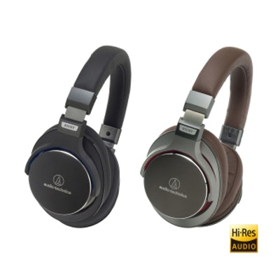 Audio Technica ATH-MSR7BK SonicPro® Over-Ear High-Resolution Audio Headphones
